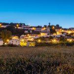 aljezur sunset blue portugal village